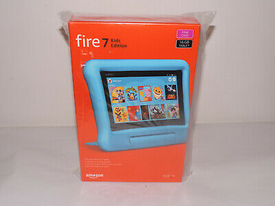 """New Amazon Fire 7 Kids Edition 7"""" Tablet (2019) - 16 GB, Pink"""