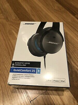 NEW SEALED BOX Bose QuietComfort 25 Acoustic Noise Cancelling Headphones Wired