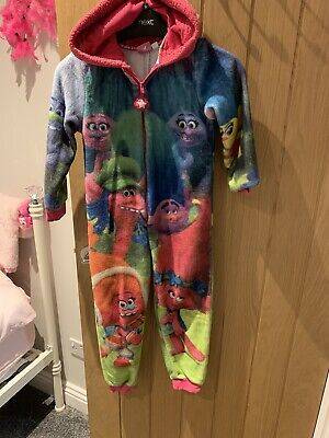 Trolls Onzie Girls Age 6 Yrs