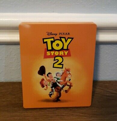 Disney Toy Story 2 4K Ultra HD + Blu-ray Limited Steelbook READ NO DIGITAL