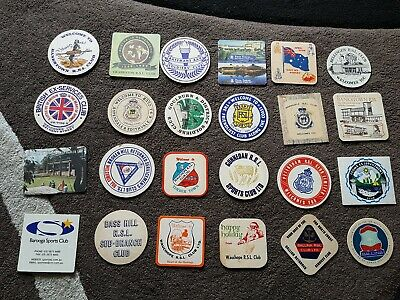 RSL Club Coasters Assorted