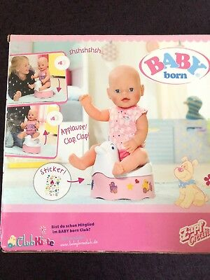 Baby Born Dolls Brand New Boxed Potty / Also Suitable For Baby Annabell