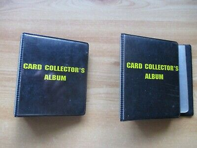 Two (2) Trading Card Collector's Albums.