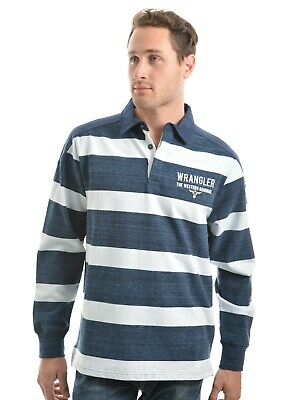Thomas Cook Men's Mitchell Striped Rugby Top