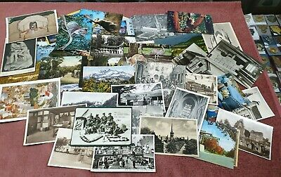 Vintage Postcards  Group Of Over 100 Mixed Lot 1
