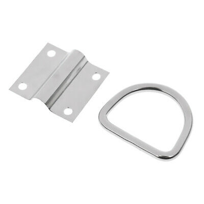 D Ring Tie Down Ring Load Anchor Trailer Forged Lashing Ring Surface Mount