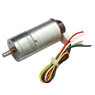 25GA370 DC12V 915RMP Encoder Motor Reducer Gear Motor DC Gear Motor for Car