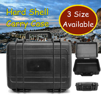 Protective Equipment Hard Carry Case Plastic Box Camera Travel Protect 3 Size UK