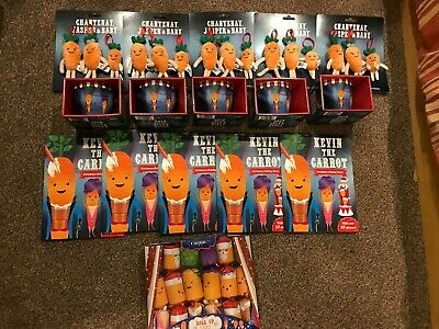 Official Aldi Kevin the Carrot  Bundle 2019 Christmas Plush Soft Toy