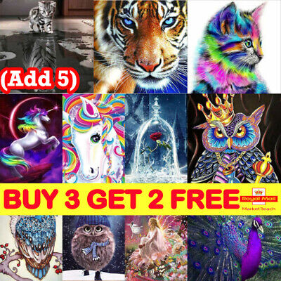 5D Diamond Painting Embroidery Cross Craft Stitch Pictures Arts Kit Decor XmasLE