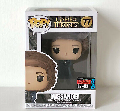 Funko Pop Nycc 2019 Missandei (77) Exclusive Special Edition Game Of Thrones