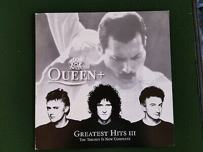 """Queen Greatest Hits 111 the trilogy is now complete 12"""" Poster"""