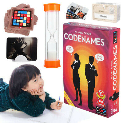 Codenames Deduction Card Party Board Game WORD GAME TOP SECRET Card Game Gift