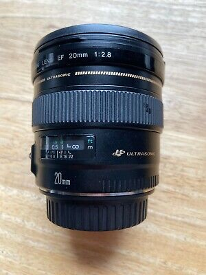 Canon EF 20mm F/2.8 USM Lens - Used, Great Condition