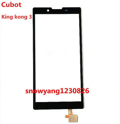Front Outer Touch Screen Glass Digitizer Replacement For Cubot King Kong 3