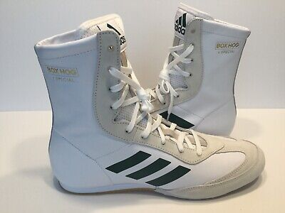 Details about adidas Mens Box Hog X Special Boxing Shoes Trainers Sneakers White Lightweight