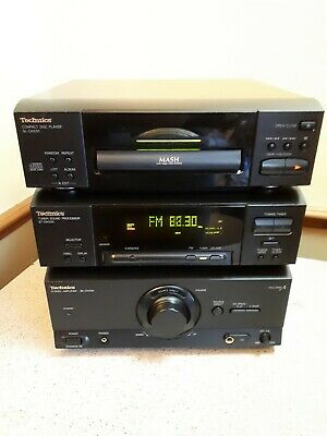 Technics Ch530 Hi Fi Component System Amp Tuner Soundprocessor Cd Player  Gwo
