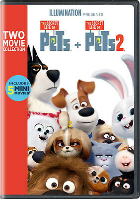 Secret Life of Pets 1&2 DVD - New and Sealed - Free Postage.