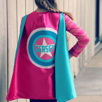 Adult Superhero Cape 55inch Personalized Name Hero Cape Costume Ships Fast