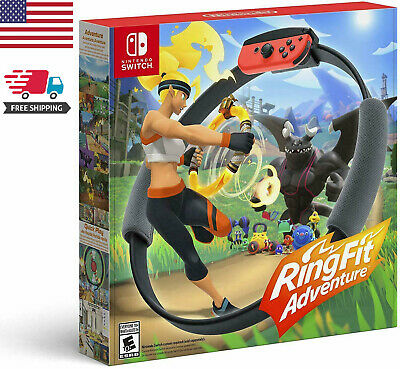 Nintendo Switch Ring Fit Adventure Fitness Sensor Ring - XMAS GIFT