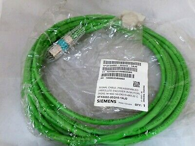 Siemens 6Fx5002-2Eq10-1Aj0 Signal Cable Preassembled (Absolute Encoder In Motor)