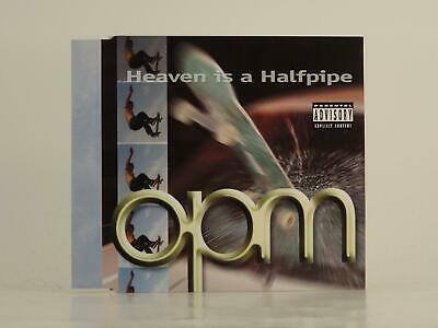 OPM, HEAVEN IS A HALFPIPE, 610, EX/VG, 3 Track, CD Single, Picture Sleeve, ATLAN
