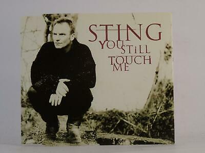 STING, YOU STILL TOUCH ME, 808, EX/EX, 3 Track, CD Single, Picture Sleeve, A&M