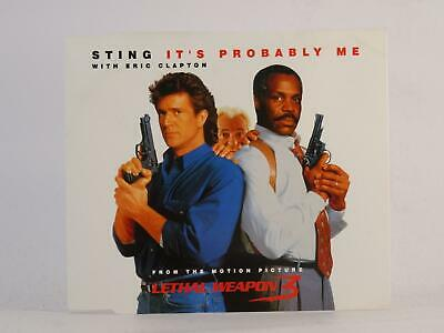 STING, IT'S PROBABLY ME, 803, EX/EX, 2 Track, CD Single, Picture Sleeve, A&M