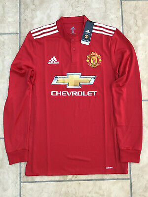 Manchester United Man Utd Size 6 Home Shirt Adidas 2017/18 Player Issue L/S