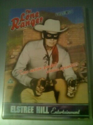 The Lone Ranger: Volume 1 DVD