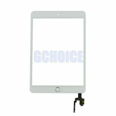 Pantalla Tactil Para Ipad Mini 3 Blanco +Ic + Boton Home Plata Digitalizador