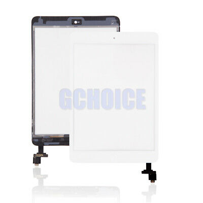 PANTALLA TACTIL PARA IPAD MINI 1 2 A1432 A1454 A1455+CHIP IC & Botón Home Blanc