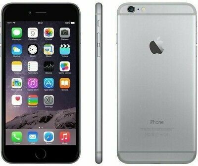 Apple iPhone 6 - Unlocked - 16GB - Gray - AT&T / T-Mobile - Global