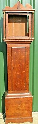 A Good  Oak Grandfather Case  - to suit 12 inch Dial - Delivery Possible. A