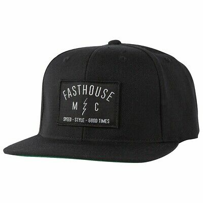 FastHouse Static Hat Black
