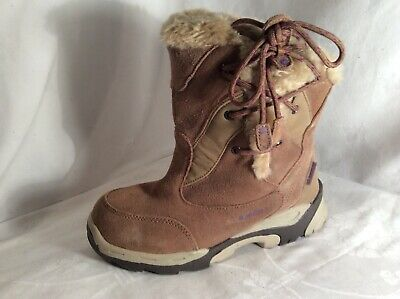 HITEC Ladies /Girls Leather Walking Boots Size 3