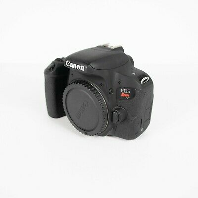 Canon EOS Rebel T7i 24.2MP DSLR *Camera Body Only*