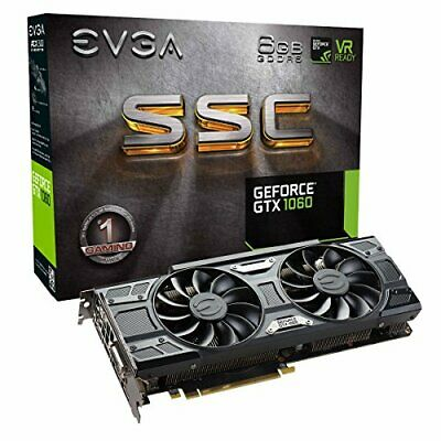 EVGA GeForce GTX 1060 GAMING, ACX 2.0 (Single Fan), 6GB GDDR5