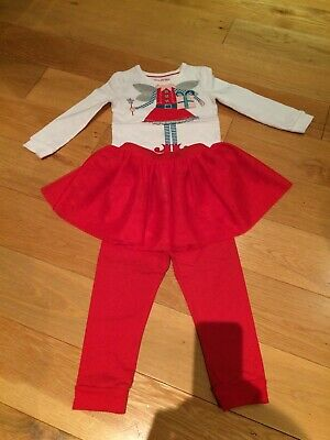 Girls M&S Christmas Pyjamas 18-24 Months