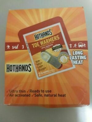 HotHands Toasti-Toes Toe Warmer - Pack of 10