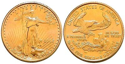 2006 AMERICAN GOLD EAGLE UNCIRCULATED 1/10-OZ - FREE Shipping!