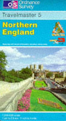 Travelmaster: Sheet 5: Northern England by Ordnance Survey (Sheet map, folded, …