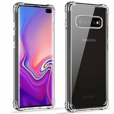 CLEAR Case For Samsung Galaxy S10 Plus S9 S8 A20e A40 A70 A10 Gel Shockproof