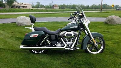 2016 Harley-Davidson® Dyna -- 2016 Harley-Davidson® FLD - Dyna® Switchback™, Green with 1366 Miles available n