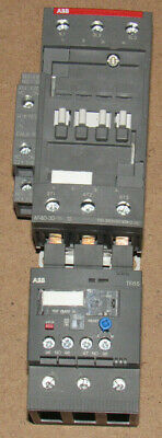 ABB AC Non-Reversing IEC Contactors AF Series & Thermal overload relay TF65