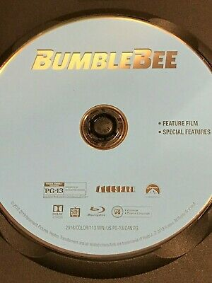 Bumblebee (2018) Bumble Bee Transformers series - Blu-ray in black case