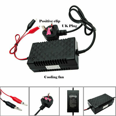 Motorcycle Car Auto 12V 2A Battery Charger Intelligent Charging Machine 2000mA