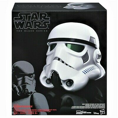 Star Wars Rogue One Imperial Stormtrooper Electronic Voice Changer Helmet