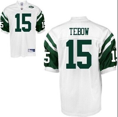 #15 Tim Tebow New York Jets NFL Jersey Mens size Large Brand New with Tags