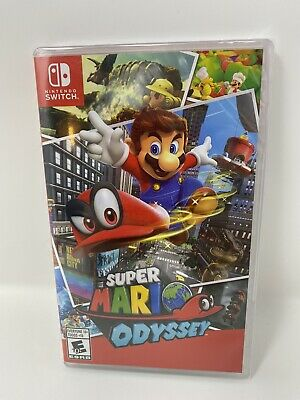 Super Mario Odyssey Standard Edition - Nintendo Switch Brand New